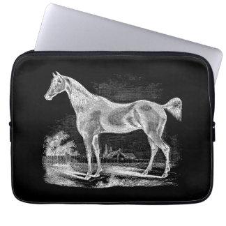 Equestrian excelente del caballo del vintage mangas portátiles