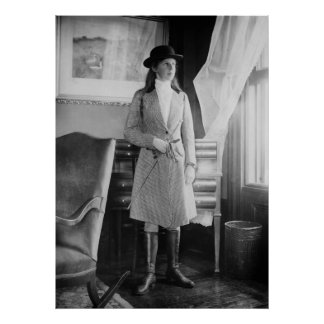 Equestrian Fashion 1915 Print
