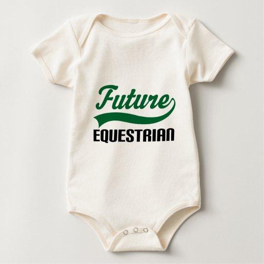 Equestrian (Future) Baby Bodysuit