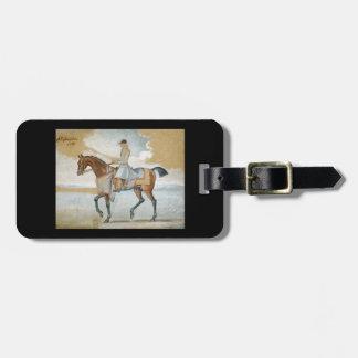 Equestrian Godolphin Arabian Thoroughbred Horse Bag Tag