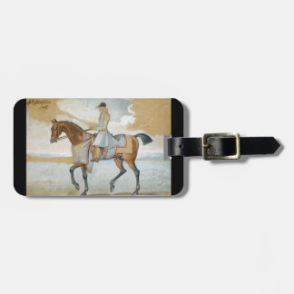 Equestrian Godolphin Arabian Thoroughbred Horse Bag Tags