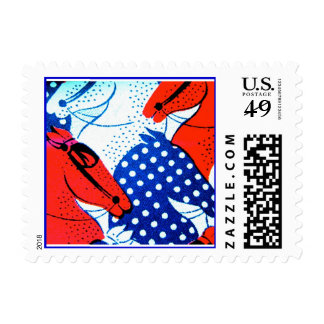 Equestrian Horse American Postage
