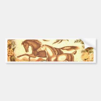 Equestrian Horse Car Bumper Sticker