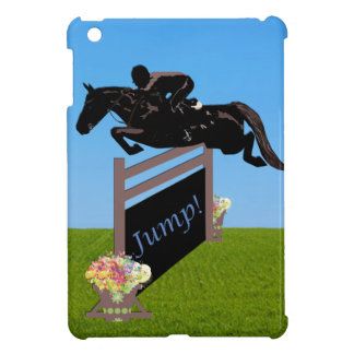Equestrian Horse Jumper iPad Mini Case
