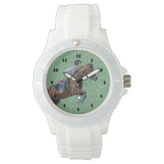 Equestrian Horse Jumper Wristwatch