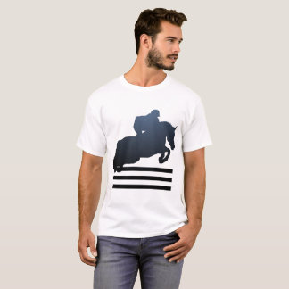 Equestrian Horse Jumping Hunters Jumpers T-shirt