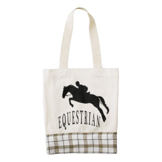 Equestrian Horse Lovers High Quality Tote Bag
