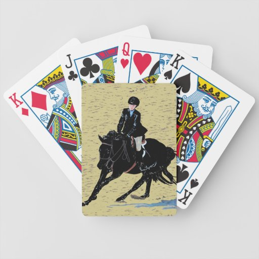 Equestrian Horse Playing Cards