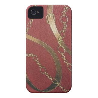 Equestrian inglés - rojo Case-Mate iPhone 4 cárcasa