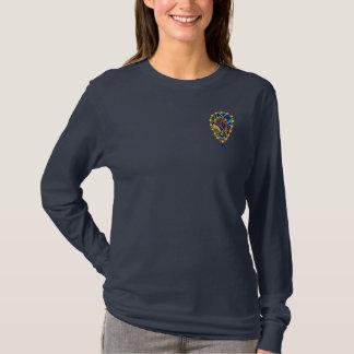 Equestrian Jewel Ladies Long Sleeve T- Shirt