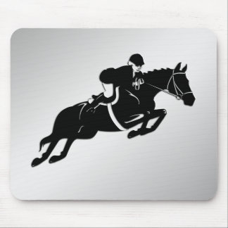 Equestrian Jumper Mouse Pad