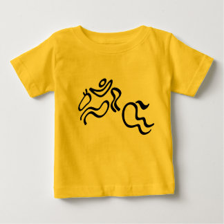 Equestrian Jumping Baby T-Shirt