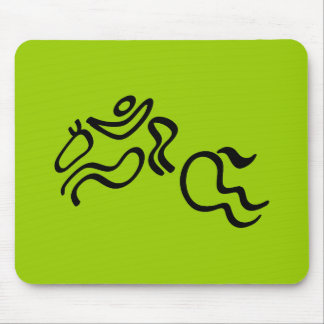 Equestrian Jumping Mouse Pad
