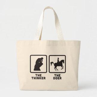 Equestrian Large Tote Bag