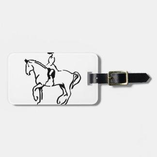 Equestrian Luggage Tag