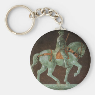 Equestrian Monument to Sir John Hawkwood, Uccello Keychain