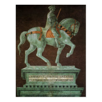 Equestrian Monument to Sir John Hawkwood, Uccello Postcard