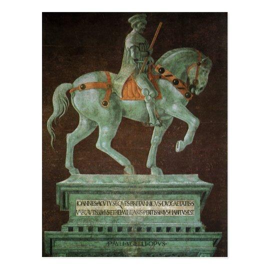 Equestrian Monument to Sir John Hawkwood, Uccello Postcard