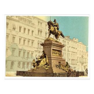Equestrian monument, Victor Emmanuel II, Venice, I Postcard
