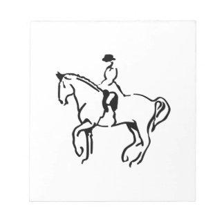 Equestrian Notepad