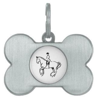 Equestrian Pet ID Tag