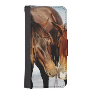 Equestrian Pony Love iPhone SE/5/5s Wallet Case