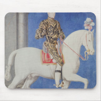 Equestrian Portrait Dauphin Henri II Mouse Pad