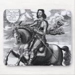 Equestrian portrait mouse pad