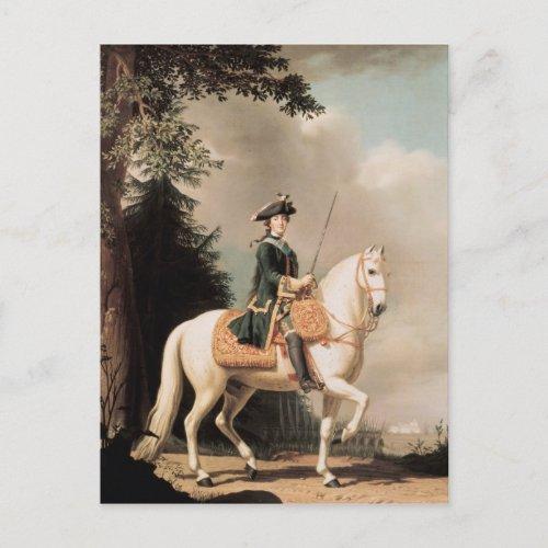 Equestrian Portrait of Catherine II Postcard