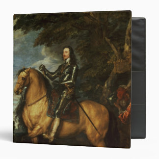 Equestrian Portrait of Charles I  c.1637-38 3 Ring Binder