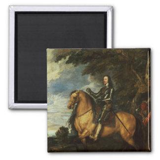 Equestrian Portrait of Charles I  c.1637-38 Magnet