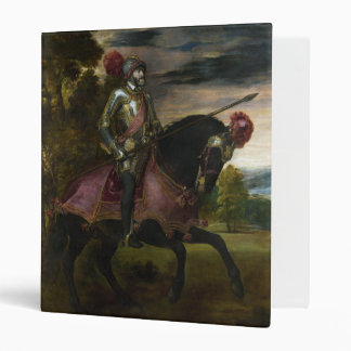 Equestrian Portrait of Charles V by Titian Binder