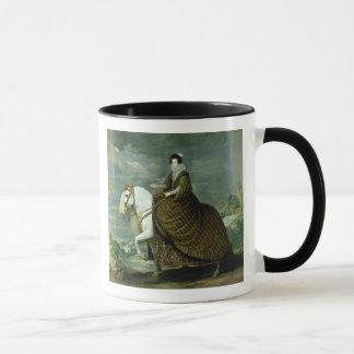 Equestrian portrait of Elisabeth de France Mug