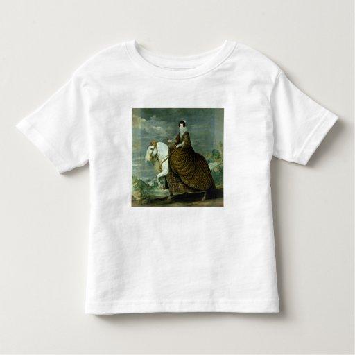 Equestrian portrait of Elisabeth de France Toddler T-shirt