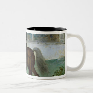 Equestrian Portrait of Henri IV  King of Two-Tone Coffee Mug