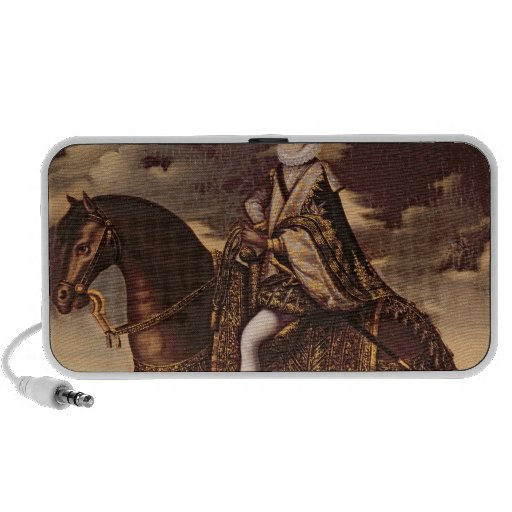 Equestrian Portrait of Henri IV Mp3 Speakers