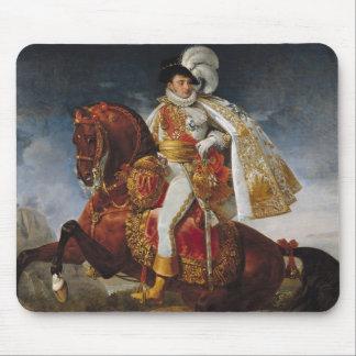 Equestrian Portrait of Jerome Bonaparte  1808 Mouse Pad