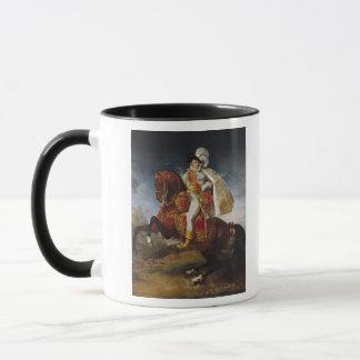 Equestrian Portrait of Jerome Bonaparte  1808 Mug