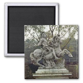 Equestrian Portrait of Louis XIV 2 Magnet