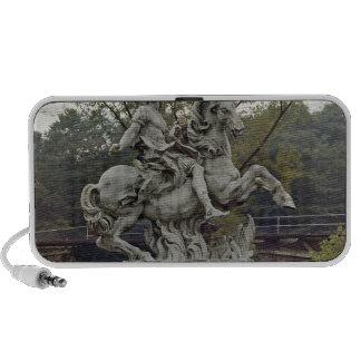Equestrian Portrait of Louis XIV 2 iPhone Speaker
