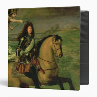 Equestrian Portrait of Louis XIV Binder