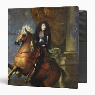 Equestrian Portrait of Louis XIV  c.1668 Binder