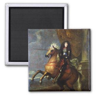 Equestrian Portrait of Louis XIV  c.1668 Magnet