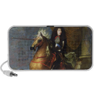 Equestrian Portrait of Louis XIV c 1668 iPod Speakers