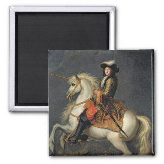 Equestrian Portrait of Louis XIV Magnet