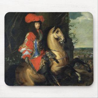 Equestrian Portrait of Louis XIV Mouse Pad