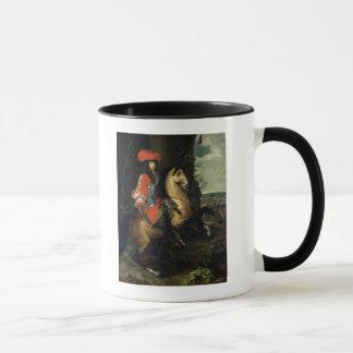 Equestrian Portrait of Louis XIV Mug