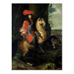 Equestrian Portrait of Louis XIV Postcards