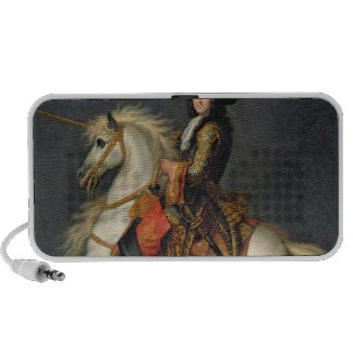 Equestrian Portrait of Louis XIV Mini Speakers
