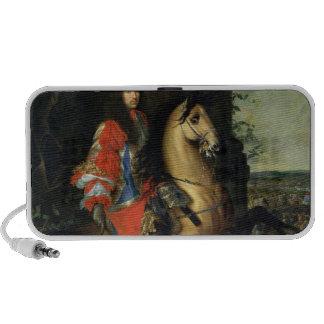 Equestrian Portrait of Louis XIV iPod Speakers